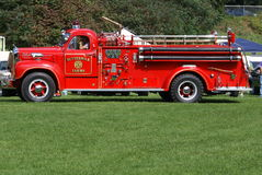 Antique firetruck. An old firetruck upstate NY Royalty Free Stock Photo