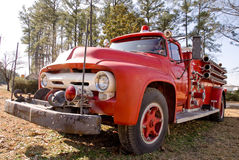 Antique Firetruck Royalty Free Stock Images