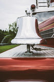 Antique Firetruck Bell Royalty Free Stock Photography