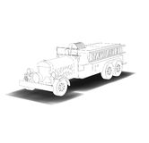 Antique firetruck Royalty Free Stock Image