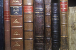 Antique first edition book collection Stock Image