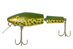 Antique Fishing Lure Royalty Free Stock Photos