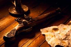 Free Antique Flintlock Pistol Stock Images - 22833864