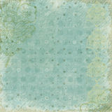 Antique Floral Background. A rich, textural background for scrapbooking and design, 12x12 inches in size stock photo