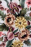 Antique Floral Background Stock Photography