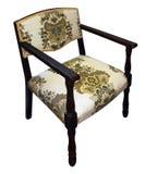 Antique Floral Chair Stock Photos