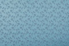 Antique floral fabric Stock Image