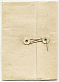 Antique Folder with String Closure Royalty Free Stock Image