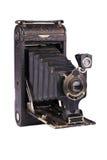 Antique folding camera royalty free stock image
