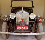 Antique Ford Car/ Cadillac Sedan car/ Rolls Royce car. Vintage Vehicles : The collection within the grounds of the Garden Hotel, Udaipur, Rajasthan comprises a Stock Images