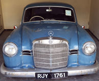 Antique Ford Car/ Cadillac Sedan car/ Rolls Royce car. Vintage Vehicles : The collection within the grounds of the Garden Hotel, Udaipur, Rajasthan comprises a Stock Photo