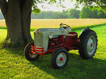 Antique Ford Tractor Stock Image