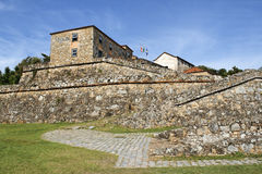 Antique fortress in Brazil Stock Photos
