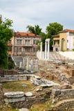 Antique Forum with Odeon in Plovdiv, Bulgaria Stock Photos