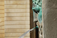 Antique fountain at arles Stock Photography