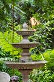 Antique fountain Stock Image