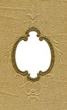 Antique frame. With subtle design elements from the early 1900's. Grunge intact Royalty Free Stock Photography