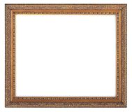 Antique Frame-81. This is a White Background Antique Frame Stock Photography