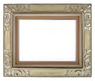 Antique Frame-9. This is a White Background Antique Frame Royalty Free Stock Photography