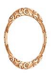 Antique frame art deco Stock Image