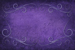 Antique Frame on Background With Texture Royalty Free Stock Photo