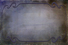 Antique Frame on Background With Texture Stock Images