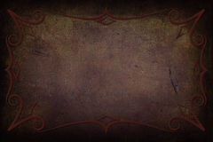 Antique Frame on Background With Texture Royalty Free Stock Photos