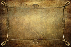 Antique Frame on Background With Texture Royalty Free Stock Images