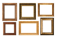 Antique frame collection Stock Image