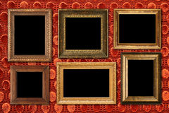 Antique frame collection. Royalty Free Stock Photo