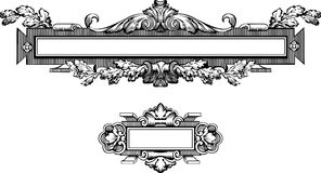 Antique Frame Engraving Royalty Free Stock Photos