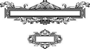 Antique Frame Engraving Royalty Free Stock Photos
