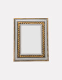 Antique frame isolated Stock Images