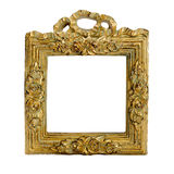 Antique frame. Isolated image. Stock Photo