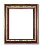 Antique Frame Isolated On White Background Royalty Free Stock Image