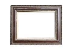 Antique frame isolated on white background Royalty Free Stock Photos