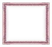 Antique   frame isolated on white background Stock Photo