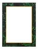 Antique frame isolated on white Stock Photo
