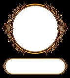 Antique frames Royalty Free Stock Photography