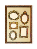 Antique frames Stock Photography