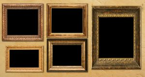 Antique frames Royalty Free Stock Image