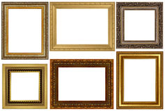 Antique frames collection Royalty Free Stock Photography