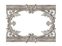Antique framework Royalty Free Stock Photo