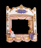 Antique French guignol. Isolated with clipping path included Stock Photo