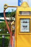 Antique Fuel Dispensers Stock Photo