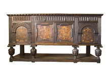 Antique furniture. ( 18 th Germany Royalty Free Stock Photo