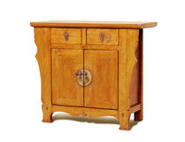 Antique furniture. Traditional piece from east asia with old pattern Stock Photography