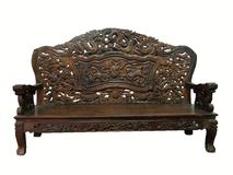 Antique furniture royalty free stock photography