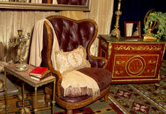Antique Furniture Retail Store Setting Stock Photos