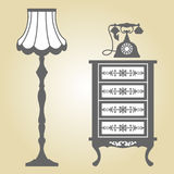 Antique Furniture Royalty Free Stock Image